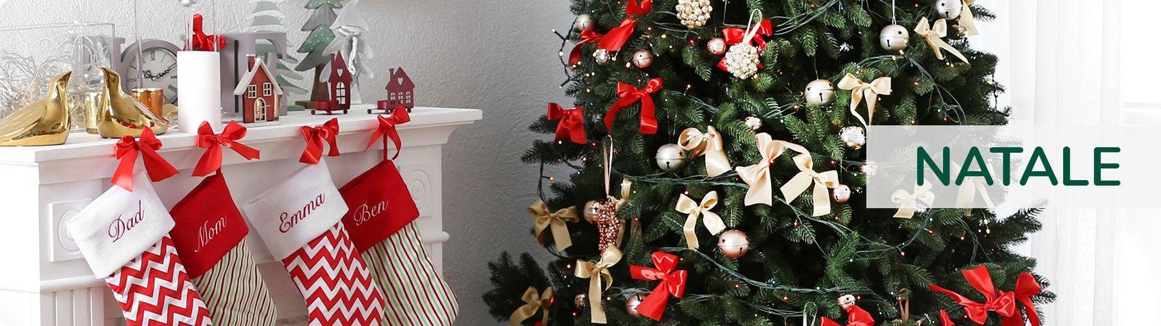 Decorazioni Natalizie Acquisto On Line.Tutto Natale Articoli Natalizi Online Consegna In 24h