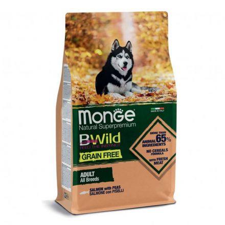 MONGE BWILD ADULT SALMONE 12KG
