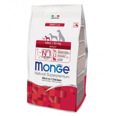 MONGE MINI ADULT POLLO 7.5KG