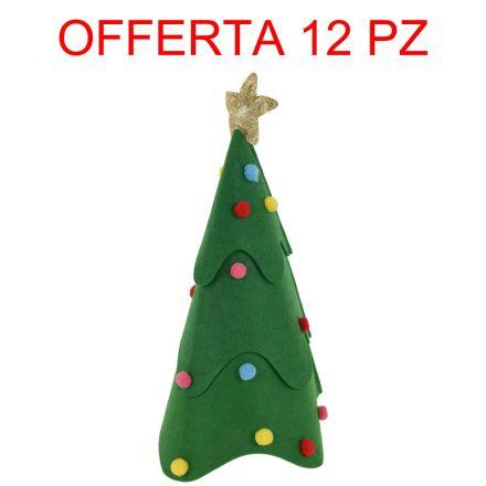 OFFERTA 12 CAPPELLI ALBERO DI NATALE 46CM